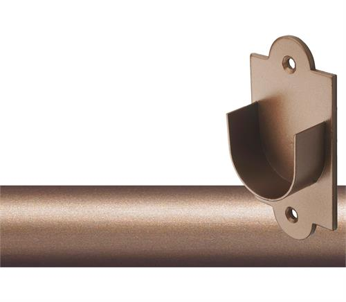 Custom 1 Quot Iron Curtain Rod Inside Mount In 4 Finishes