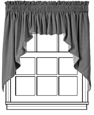 Custom Tailored Swag Curtains Group A