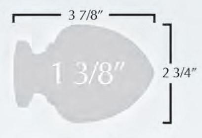 Acorn Custom Select Wood Rod Set 1 3 8 Quot Diameter