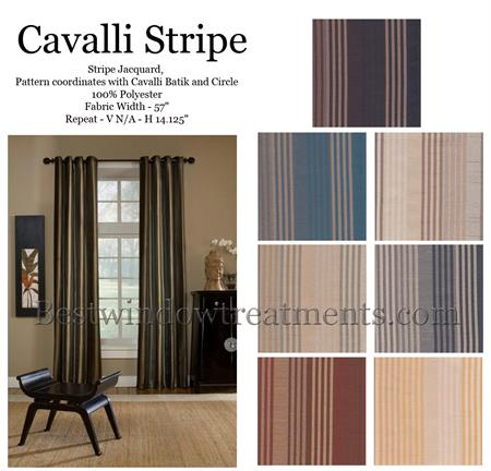 Cavalli Stripe Curtain Drapery Panels Www Bestwindowtreatments Com
