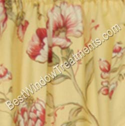 Coventry Floral Tier Curtains