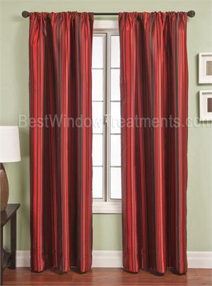 Element Stripe Curtain Drapery Panels