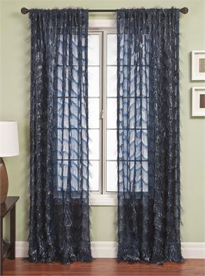 eyelash sheer curtain panel add lining interlining blackout grommets backtabs - Sheer Curtain Panels