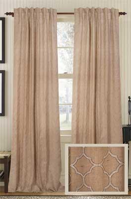 Indiana Jute Curtain Panel | Best Window Treatments