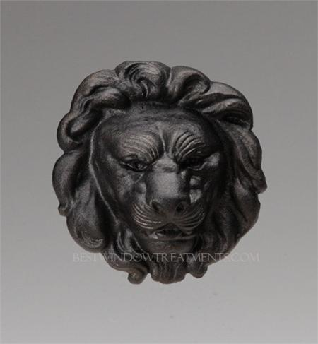 Le Fer Lion S Head Swag Holder Bestwindowtreatments Com