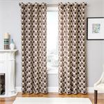 Bali Tile Curtain Panel available in 5 colors