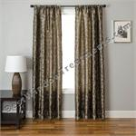 Caesar Scroll Curtain Panel available in 6 colors