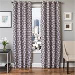 Dante Curtain in Saphire Blue