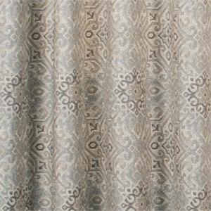 Miramar Medallion Tile Grommet Curtain Pair Www