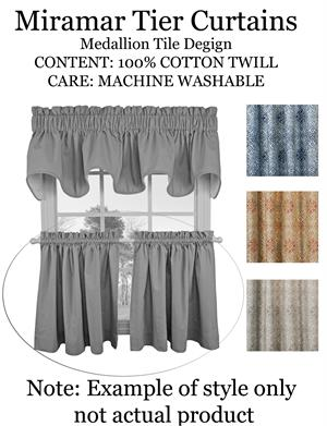 24 inch Length Cafe Tier Curtains | BestWindowTreatments.com