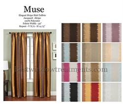 Muse Ikat Stripe in bright colors two tone