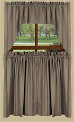 New Port Stripe Tier Curtains (swag sold separately)