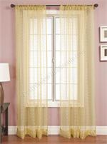 Palazzo Honeycomb Sheer Curtain Panels