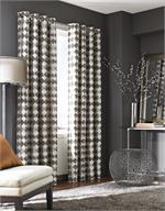 Palisade Curtain Panel available in 6 colors