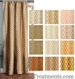 Curtains Multi-tone with options for Blackout Lining, Grommets or Back-tabs
