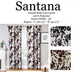 Cowhide Print Curtain perfect for ranch style
