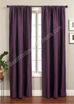 Straino Curtain Panel available in 14 colors
