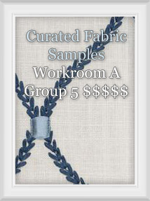 Curated Fabric Samples for Workroom A Group 5