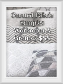 Curated Fabric Samples for Workroom A Group 3