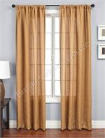 Zante Curtain Panel available in 7 colors