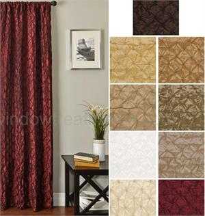 Zenith Ready-made Drapes with options for Blackout Lining, Grommets/backtab