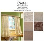 Crete Curtain Drapery Panels Www Bestwindowtreatments Com