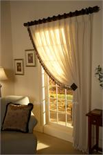 crown pleated curtain panel