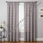 Pomezia Semi-Sheer Curtain Panel available in 5 colors