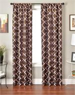 Samian Curtain Panel available in 7 colors