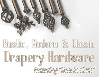 Custom Curtain Rods: Made in the U.S.A.