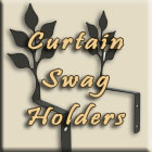 Curtain Swag Holders