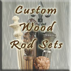 Custom Curtain Rods: Custom Wood Curtain Rod Sets
