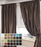 Nether Curtain Panel available in 27 colors