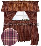 Winchester Curtains with ties