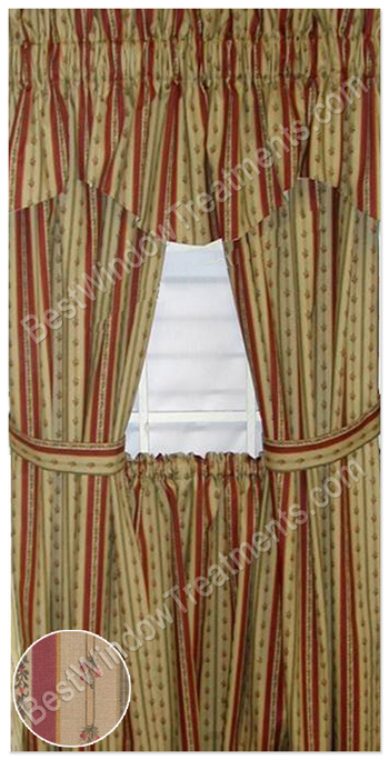 Provencal 5403 Curtain Fabric Honey 20 – Cheap Prices | UK Delivery