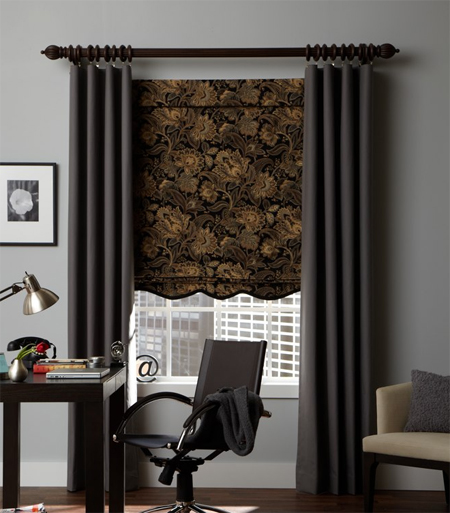 Curtains Ideas curtains double width : Custom Double Width Flat Panel Curtain - Group 1