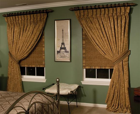 Curtains Ideas curtains double width : Custom Goblet Pleat Style Curtains - 40