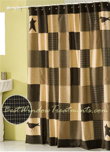 kettle plaid shower curtain