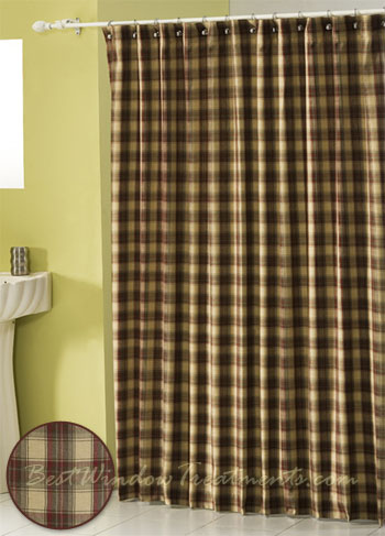 SHOWER CURTAINS AND WINDOW TREATMENTS | Curtain Rods