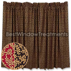 Cedar Park Vine Tier Curtains
