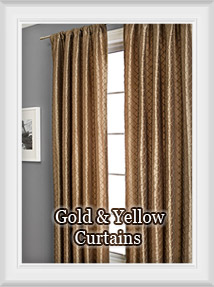 Gold and Yellow Curtains