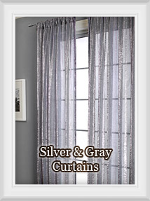 Shop for Grey, Silver or Metallic Curtains