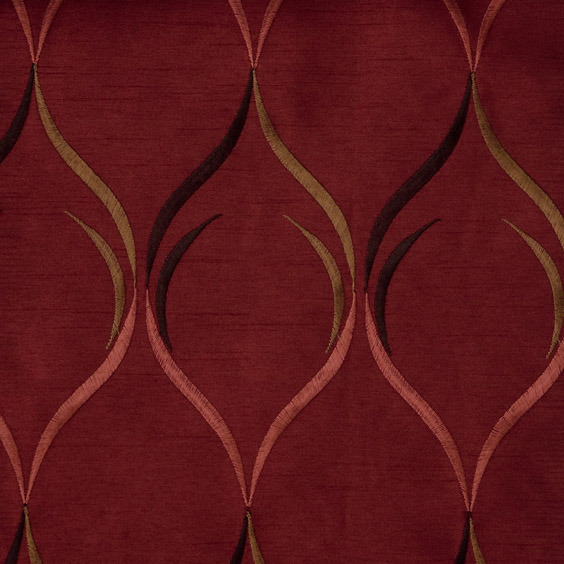 Regis Wave Curtain Drapery Panels