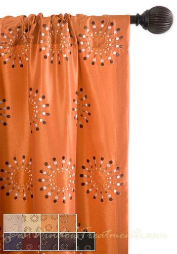 Mayan Curtain Panel