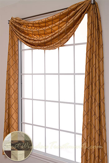 Paramount Scarf Swag Window Topper Bestwindowtreatments Com