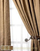 Winchester Curtain Panel available in 3 colors
