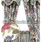 Fresh Country Rose Tier Curtains