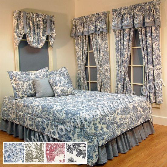 Victorian Toile Comforter Bestwindowtreatments Com