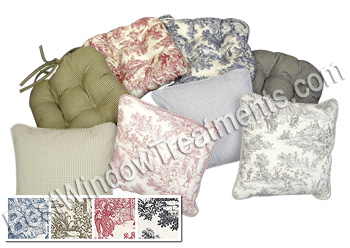 Genial Victorian Toile Chair Pads