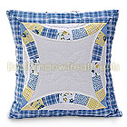 Lily Ann Ring Quilted Pillow